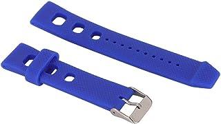 Eulbevoli Bracelet de Montre Bracelet de Montre étanche avec 3 Barres à Ressort pour horlogers/réparateurs de Montres(Blue)