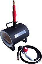 Hell's Forge Portable Propane Forge Single Burner Knife and Tool Making Farrier Forge MADE IN THE USA