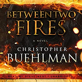 Between Two Fires audiobook cover art
