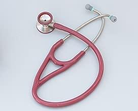 Kila Scopes KL770 Cardiac Dual Head Steel Stethoscope with Bell - Burgundy