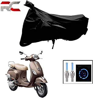 Riderscart All Season (Weather) Waterproof Bike Cover for Piaggio Vespa Indoor Outdoor Protection Combo with Storage Bag a...