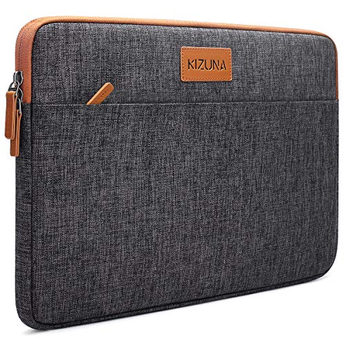 kizuna 10 10.1 inch Tablet Sleeve Water Resistant Laptop Case Carrying Bag for Apple 10.2' iPad 10.5' 11' 9.7' iPad Pro/iPad Air 10.5'/10' Microsoft Surface Go/Samsung Galaxy Tab S6 S5e WLAN, Brown