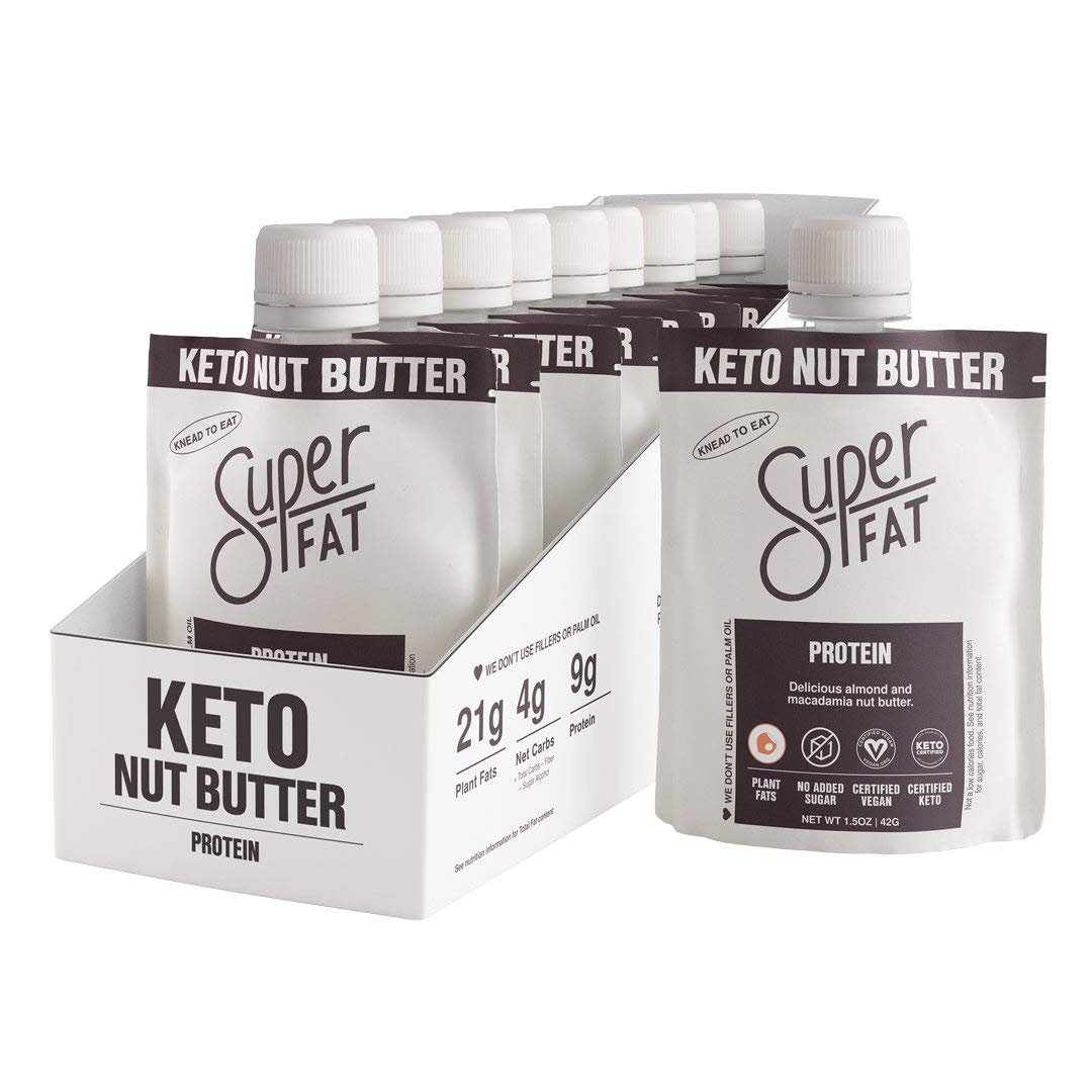 SuperFat wholesale Nut Courier shipping free Butter Keto Macadamia Snacks - Almond