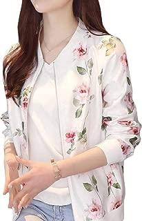 Energy Womens Zipper Pockets Casual Printing Long Sleeve Outwear Jacket
