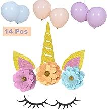 Alemon Unicorn Backdrop Party Supplies Decorations 10