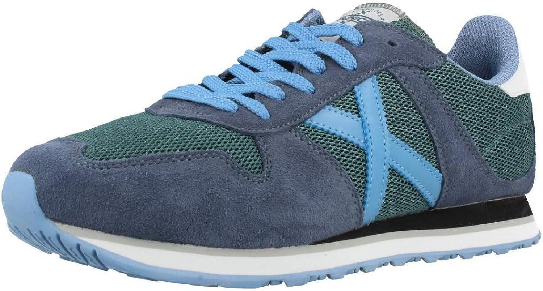 Munich Men's shoes, Colour bluee, Brand, Model Men's shoes Massana bluee