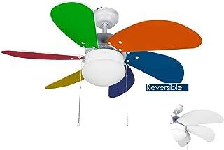 Bastilipo - Ventilador de techo con luz modelo CALELLA