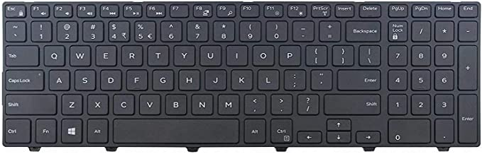 Givwizd Replacement Keyboard Compatible for Dell Vostro 15 3568 Notebook, US Layout Non Backlit