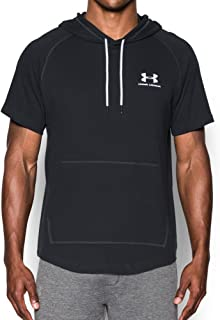 Men Sportstyle Short Sleeve Hoodie