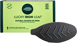 The Original Lucky Iron Leaf Cooking Tool Adds Iron to Food. Vegan Iron Reusable for 5 Years. Ideal for Pregnant Women or ...