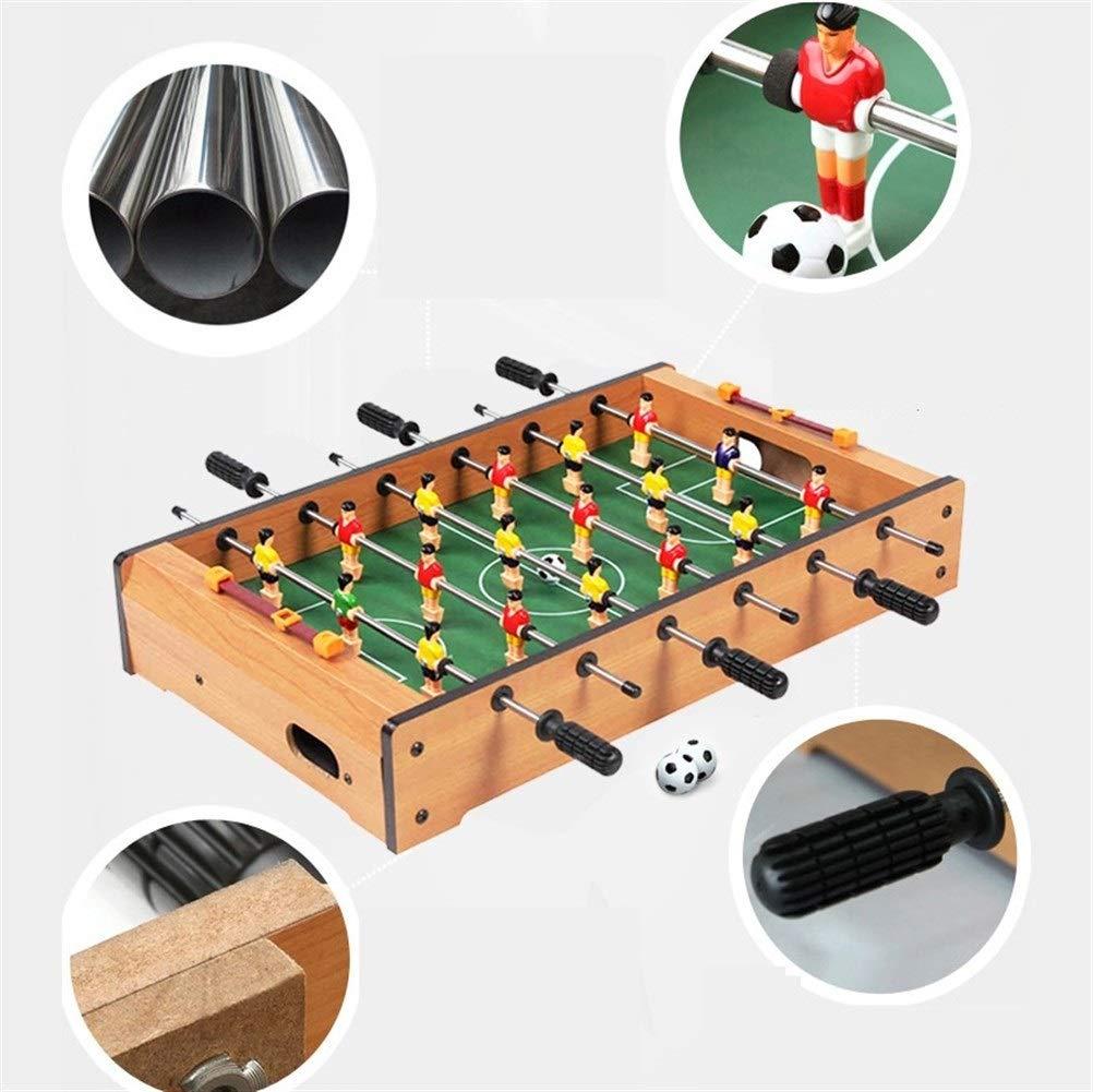 A&D Juguete de compresión de compresión, Broma, Juguetes de Escritorio for la Oficina for Adultos, Fútbol de Madera clásico Niños Padres Interacción Juegos de Juguete Mini Futbolín Futbolín: Amazon.es: Hogar