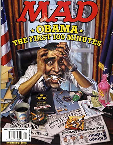 Mad Magazine, No. 498: Obama- The First 100 Minutes (February, 2009)