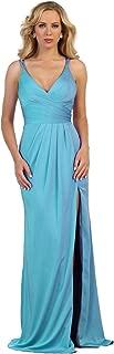 US Fairytailes Shoulder Strap Pleated Chiffon Dress #21469