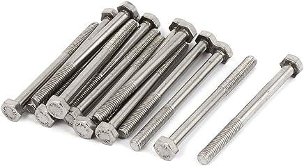 Lot de 10 en acier inoxydable v2A 45 x pans m8 dIN 912 innensechskantschraube vis en acier inoxydable