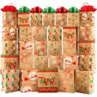 30-Pieces Kidtion Christmas Gift Bags