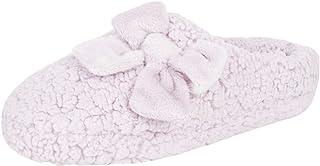 Women's Plush Marshmallow Slide on House Slipper Clog with Memory Foam