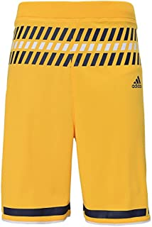 University of Michigan Wolverines Youth Yellow Replica Shorts
