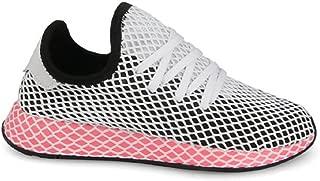 adidas Womens W DEERUPT Runner CBLACK/CBLACK 5