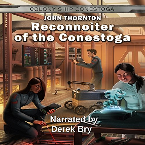 Reconnoiter of the Conestoga audiobook cover art