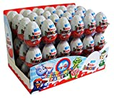 Kinder Surprise - Huevo de Chocolate - 20g - Paquete de 72...