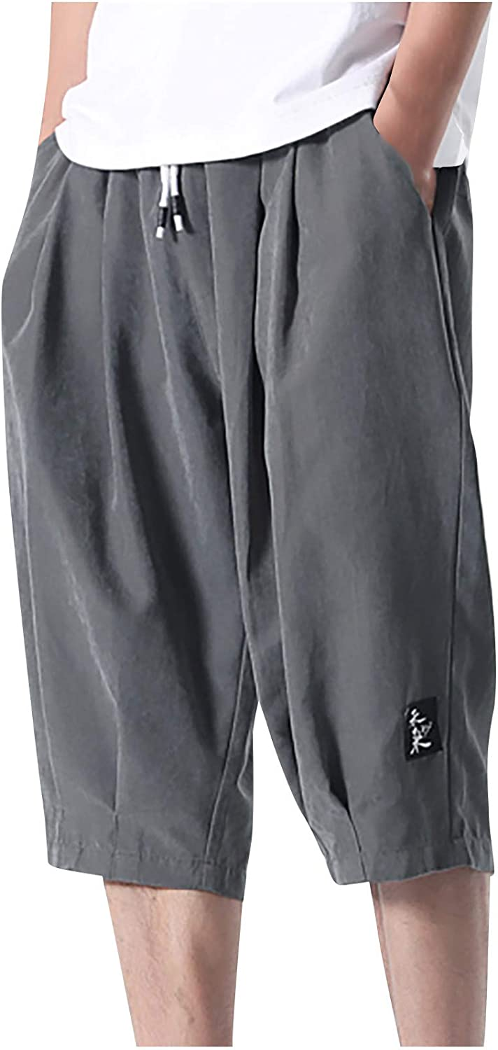 El Paso Mall Men's Classic Pants Summer Casual Twil OFFicial store Shorts Wear Pocket
