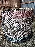 Equipride - Rete rotonda da fieno, con fori piccoli, colore: Nero