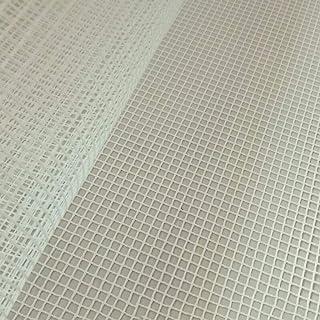 qingqingR 100x150 cm Blank Teppich Haken Mesh Leinwand Knüpfteppich Machen Teppich Tapisserie DIY Kit Werkzeug für Stickerei Handwerk Dekoration