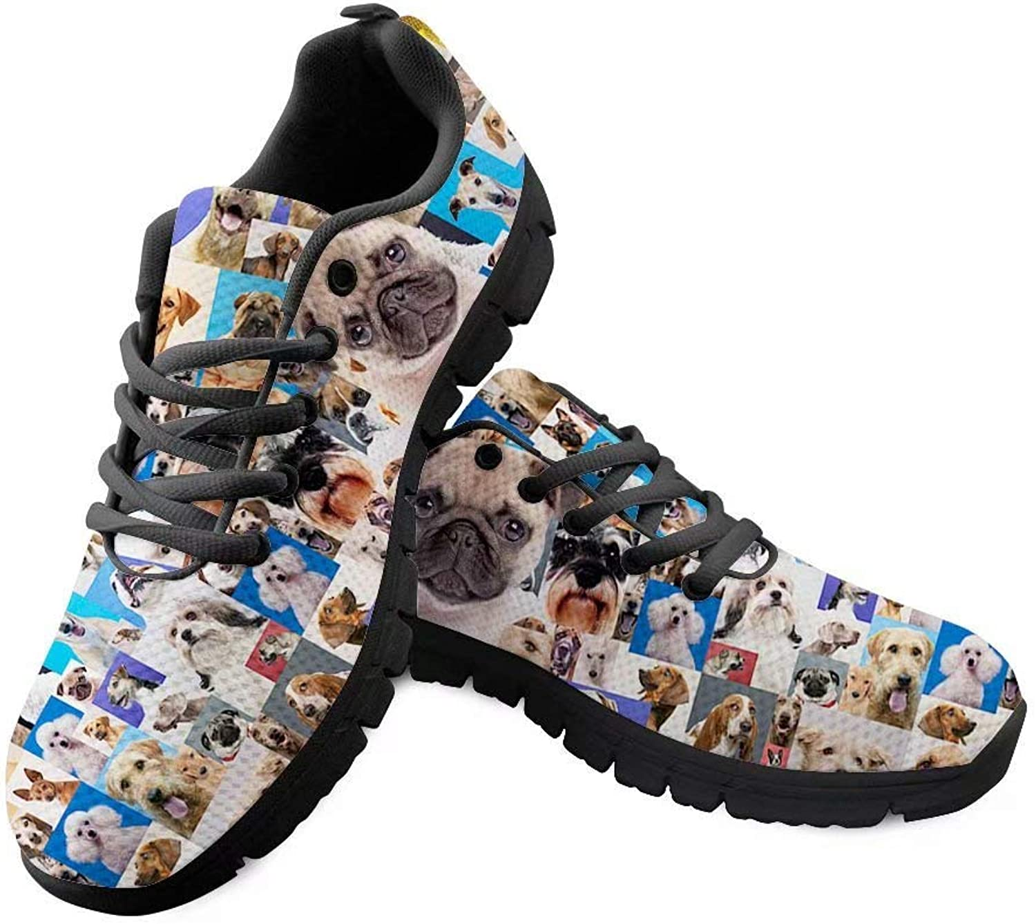 Cozeyat 3D Animal Printed Women's Sneakers Fashion Breathable Casual Sport Gym Jogging Walking shoes