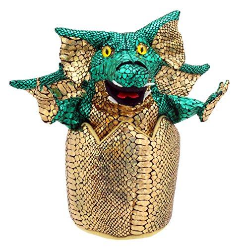 The Puppet Company - Bébé Dragon dans Oeuf - Vert