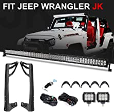 Best jeep wrangler light bar on hood Reviews