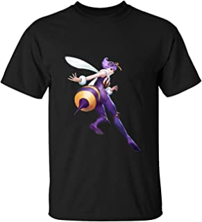 Darkstalkers Resurrection Q-Bee T-Shirts For Mens