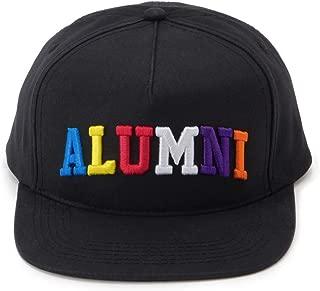 """Tha Alumni Clothing (アルムナイクロージング) ロゴ スナップバックキャップ ブラック フラットバイザー""""RADIANT SNAPBACK"""" [並行輸入品]"""