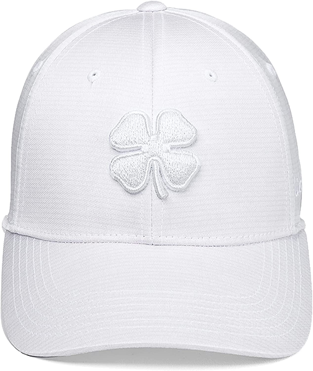 Black Clover Crazy Luck 5 Cap, White hat with White Clover S/M