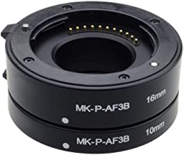 Mcoplus MK-P-AF3-B Automatic Extension Tube for Olympus Panasonic Micro 4/3 System Camera