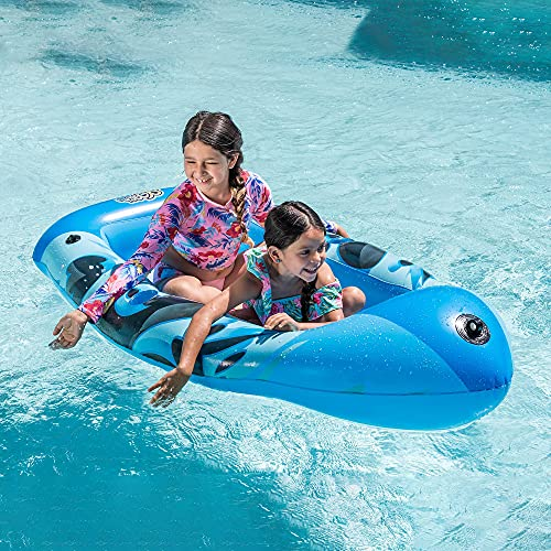 Inflatable Boat Swimming Pool Float for Kids and Adults Summer Water Float Toys...