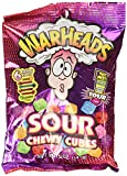 Warheads Sour Chewy Cubes 5oz Bag