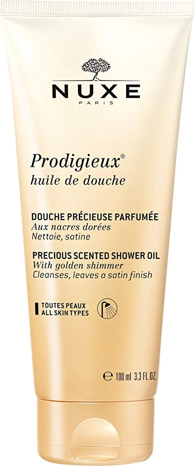 シェルター顔料有効化ニュクス Prodigieux Huile De Douche Precious Scented Shower Oil 100ml [並行輸入品]