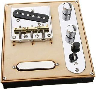 Metall Gitarre Single Coil Pickup Rahmen Platten für E Gitarre Zubehör