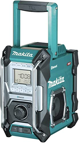 popular Makita GRM02 40V online sale Max XGT Lithium-Ion Cordless Bluetooth Job Site Radio (Tool lowest Only) outlet online sale