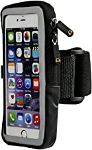 Case Compatible Cell Phone Armband with ID & Key Holder Compatible with iPhone 8 7 6 6s 5 SE Galaxy S10e S7 S6 with ID & Key Holder for Running, Walking, Hiking by Bear Beast