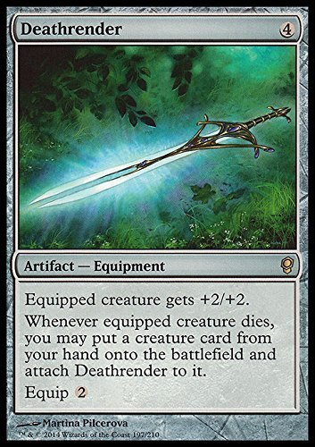 Magic: the Gathering - Deathrender (197/210) - Conspiracy by Magic: the Gathering