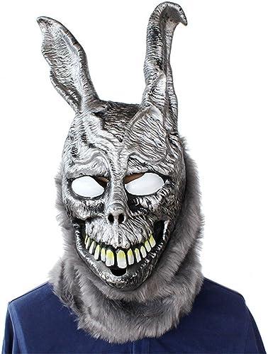 precios al por mayor JTWJ Halloween Fiesta Fiesta Fiesta de Terror Fiesta de Terror Atrezzo Fantasma Conejo Frank Conejo Máscara de látex  oferta de tienda