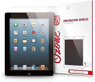 واقي شاشة شفاف عالي الدقة من OZONE لأجهزة Apple iPad 2 3 4