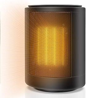 Calefactor Portátil Eléctrico Calefacción De Cerámica 3000W Oscilación,Calentador con 4 Ajustes De Temperatura,Protección contra Sobrecalentamiento para Hogar Oficina