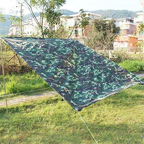 ZALE Multipurpose Sunshades, Ultra-light Waterproof Camouflage Bunker For Camping Hunting Sun Screens for Patio, Many Sizes Of Sunshade For Camping Mat Hunting Sun protection