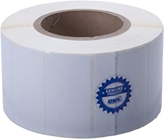 Kenco Premium Inkjet 3 X 1.5 Rectangle High Gloss Paper Roll-Fed Inkjet Labels. Compatible with Primera Color Label Printers and Many Other Printer Brands. Supplied 1600 Labels on a 3 core.