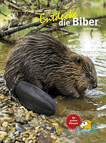 Entdecke die Biber: Mit großem Biberquiz (Entdecke - Die Reihe mit der Eule / Kindersachbuchreihe)