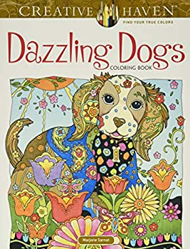 Creative Haven Dazzling Dogs Coloring Book  Creative Haven Coloring Books