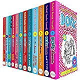 Dork Diaries By Rachel Renee Russell 12 Books Collection Set (Puppy Love, Holiday Heartbreak, TV Star, Pop Star, Frenemies Forever, Skating Sensation, Party Time)