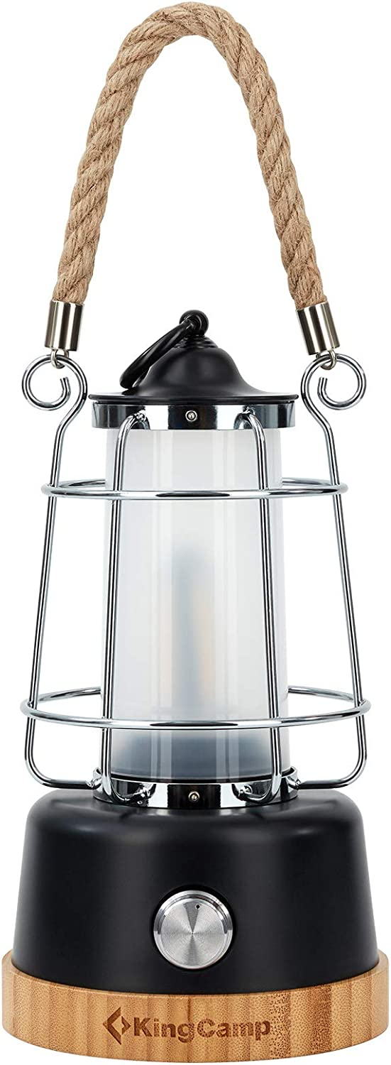 KingCamp Luxury Battery Camping Lantern with Brightness Adjustable National uniform free shipping for